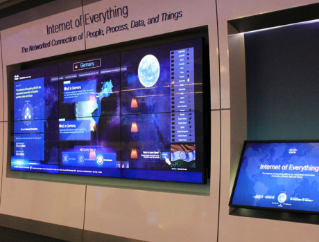 Internet of Everything Interactive Exhibit