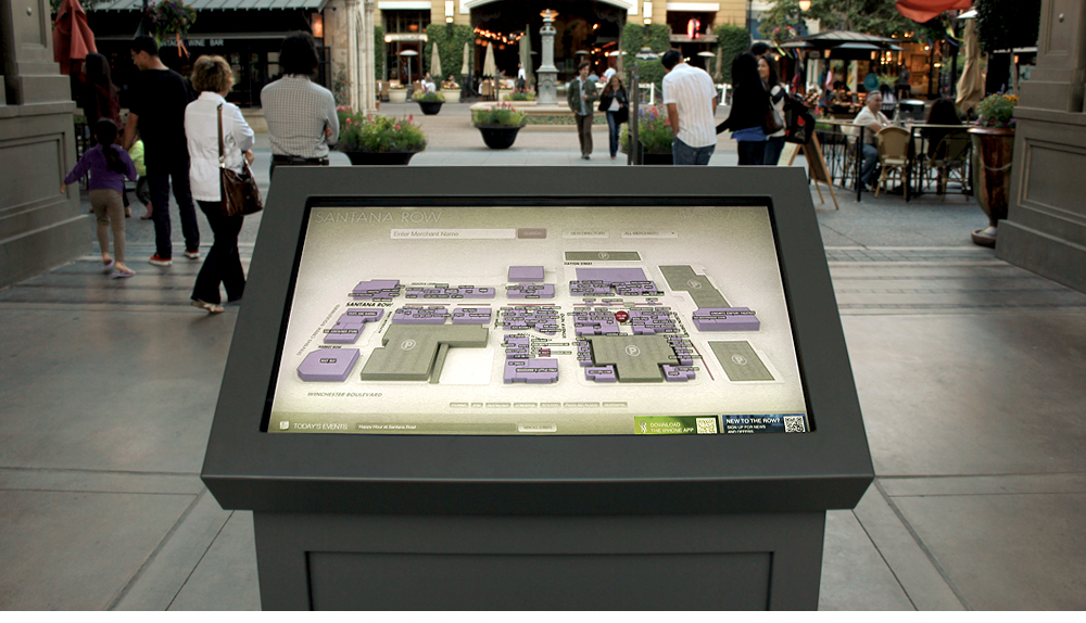 Interactive Wayfinding Application